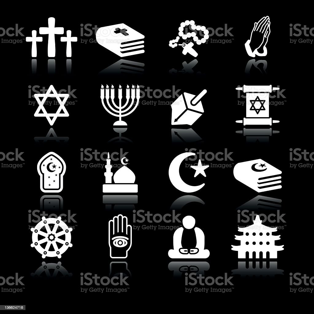 Religions | Simple White royalty-free stock photo