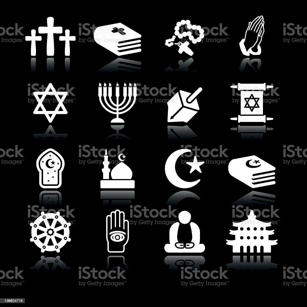 Religions | Simple White stock photo