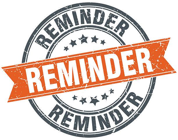 Clip Art Calendar Reminder : Reminder clip art vector images illustrations istock