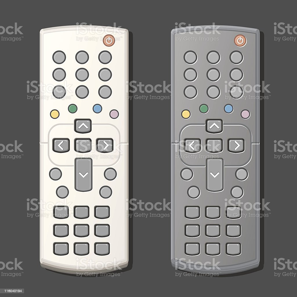 Remote Control royalty-free stock vector art