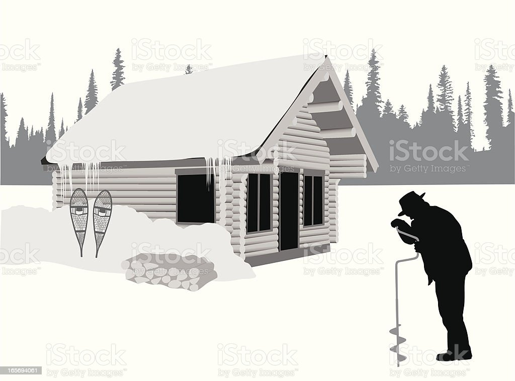 Remote Vector Silhouette royalty-free stock vector art