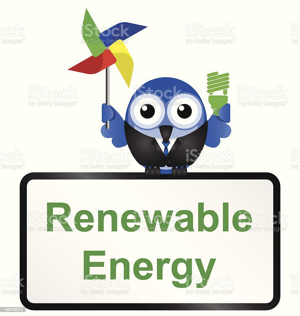 Renewable royalty-free stock vector art