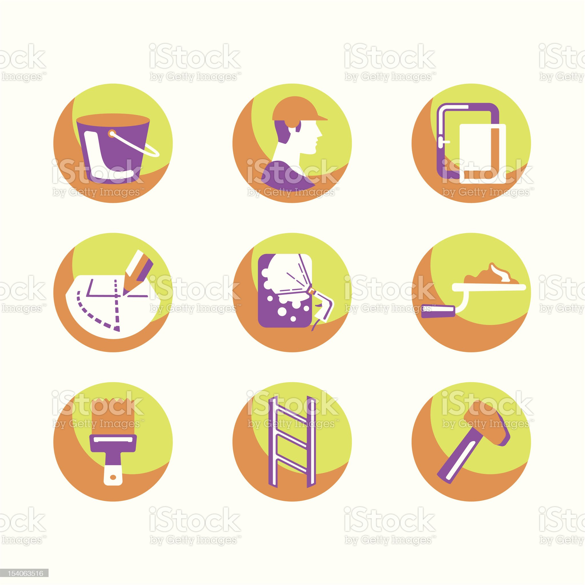 Repair Icons Series royalty-free stock vector art