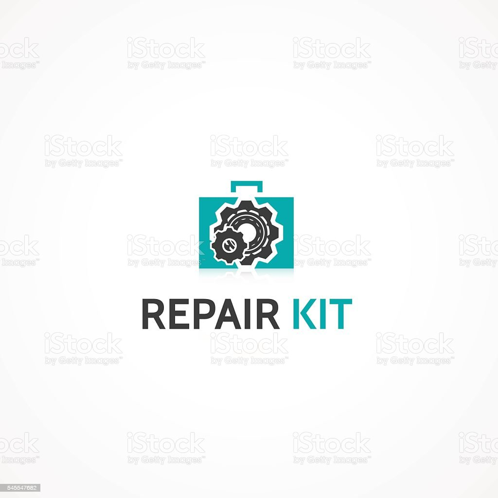 Repair Kit. vector art illustration