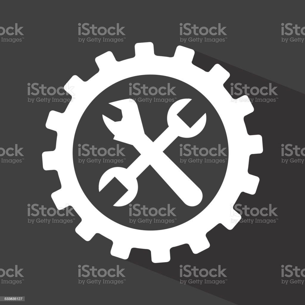 repair service vector art illustration