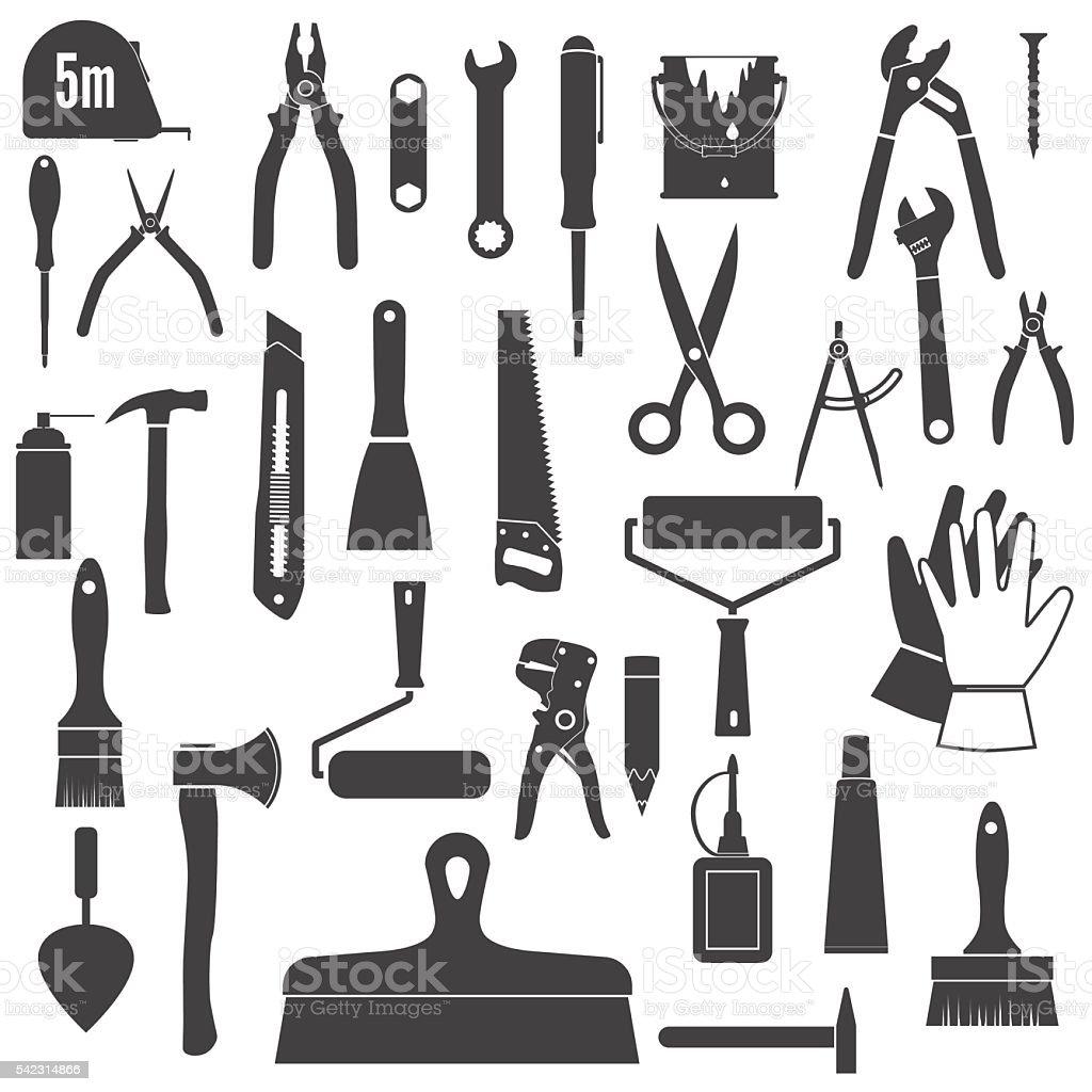 Repair tool vector art illustration