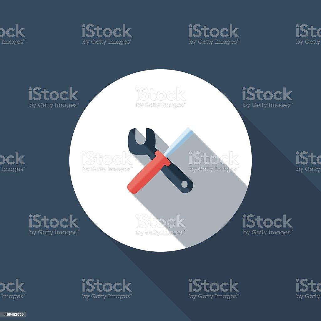 Repair vector art illustration