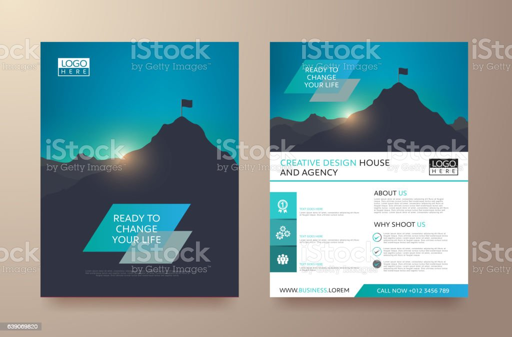 Report Cover 60 royalty-free stock vector art
