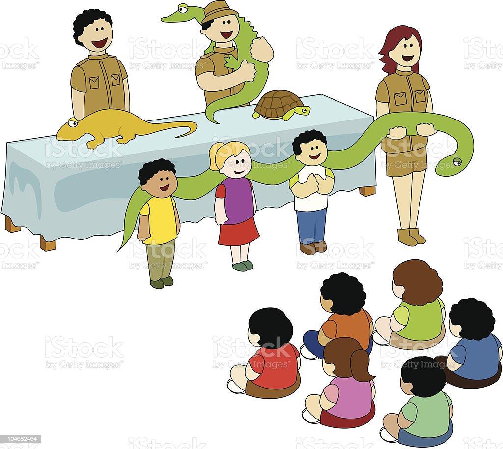 Reptile Show royalty-free stock vector art