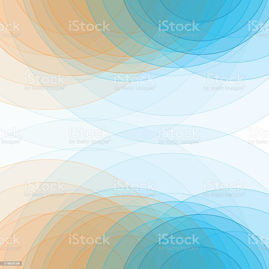 Research Semi Circle Background Square vector art illustration