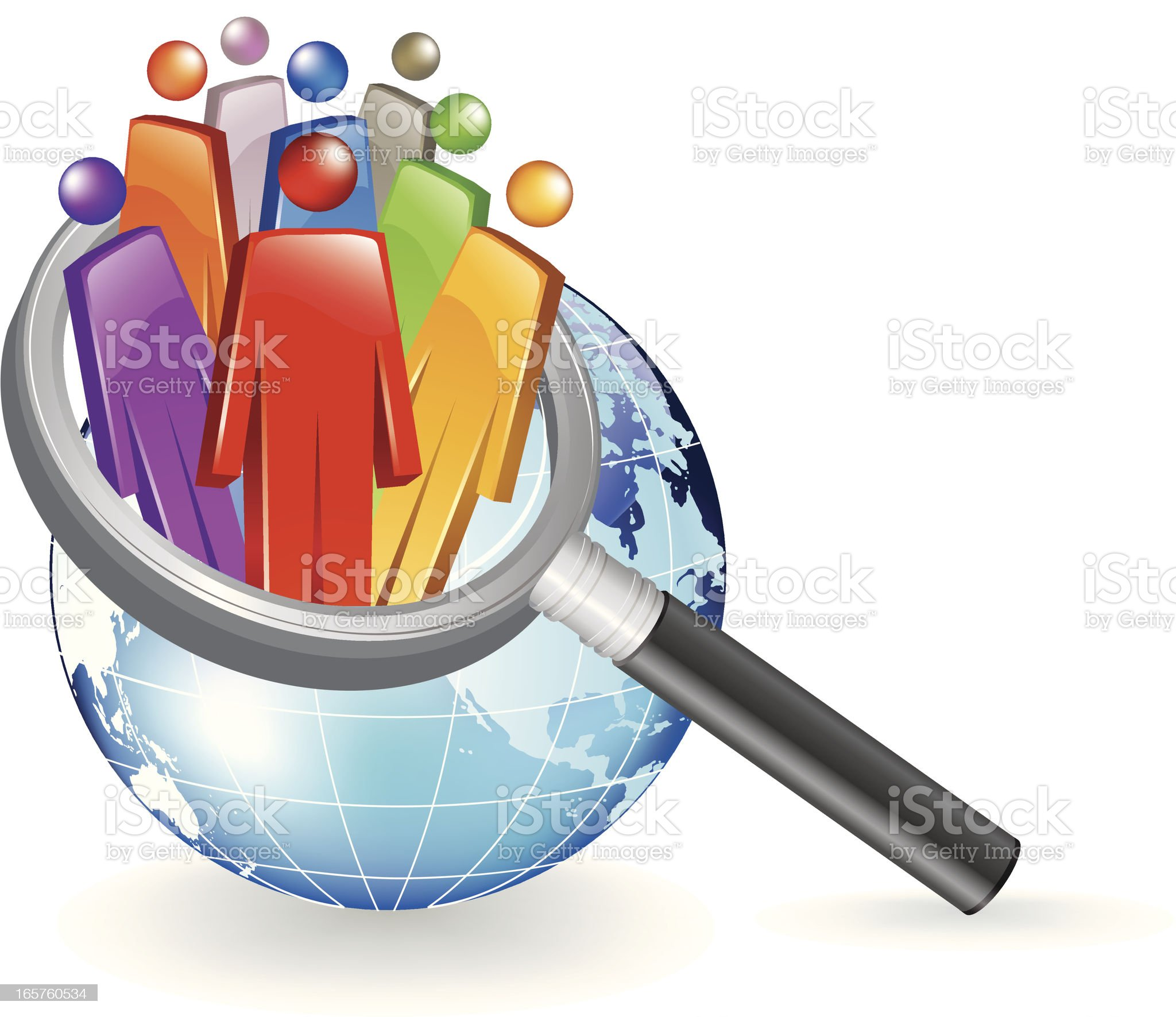 Research the world royalty-free stock vector art