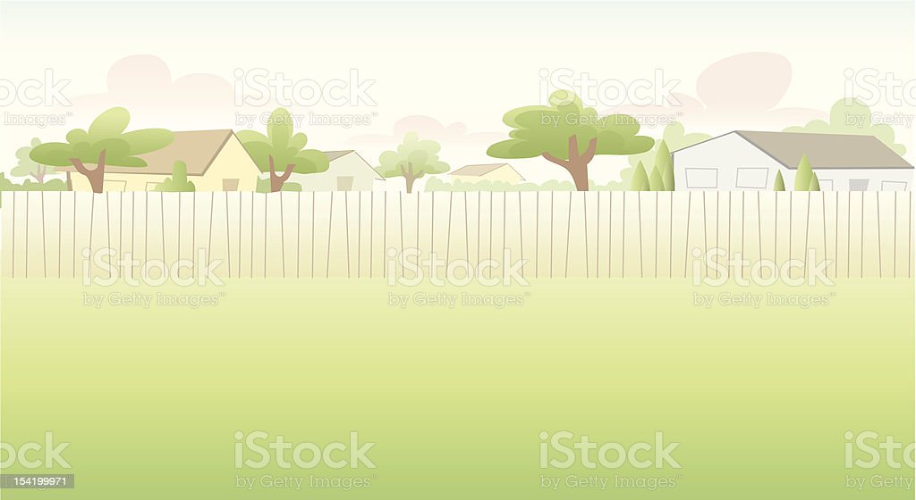 Residential Background royalty-free stock vector art