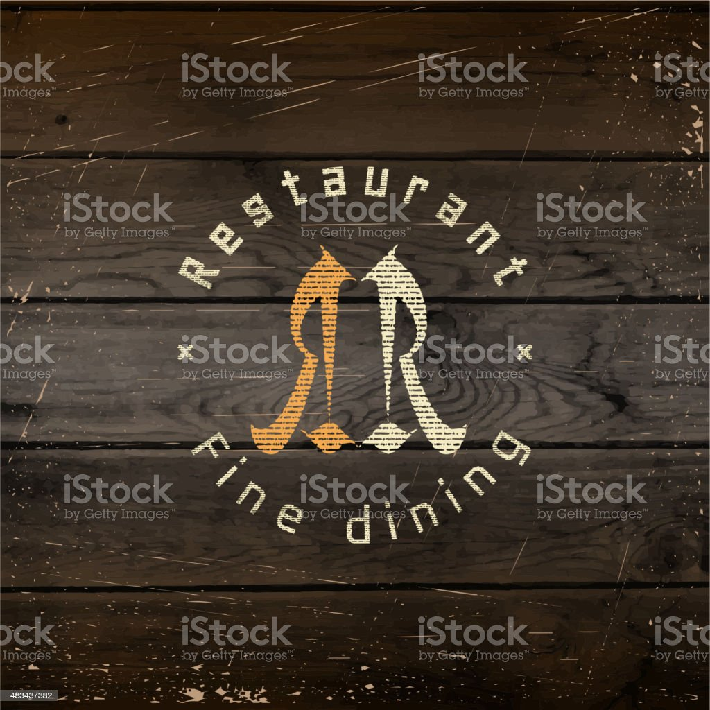 Restaurant badges logos and labels for any use vector art illustration