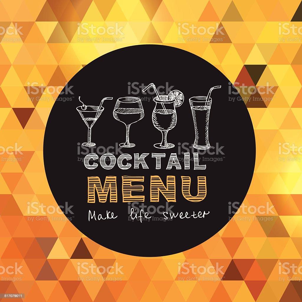 Restaurant cafe menu. vector art illustration
