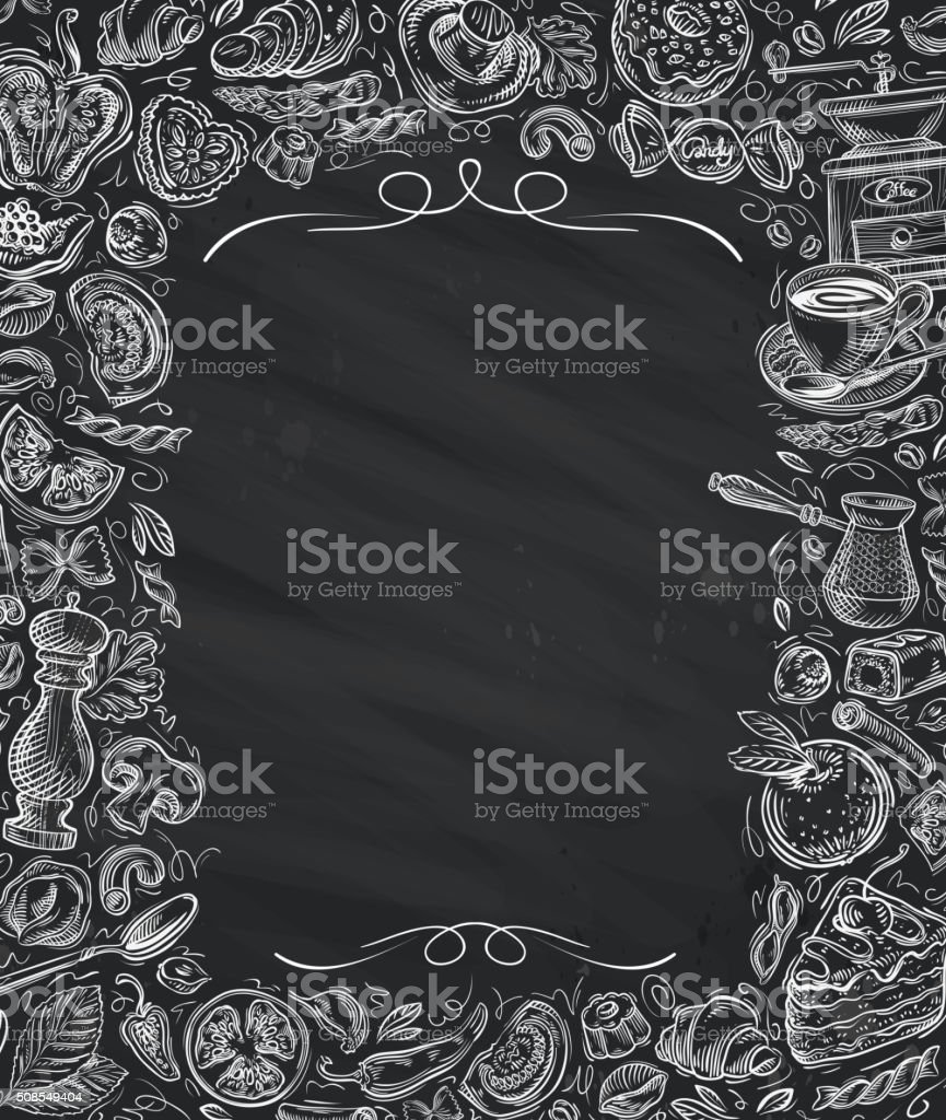 Restaurant, cafe vector menu design template vector art illustration