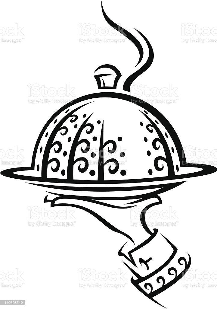 restaurant icon royalty-free stock vector art