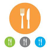 Restaurant Icons. Vector