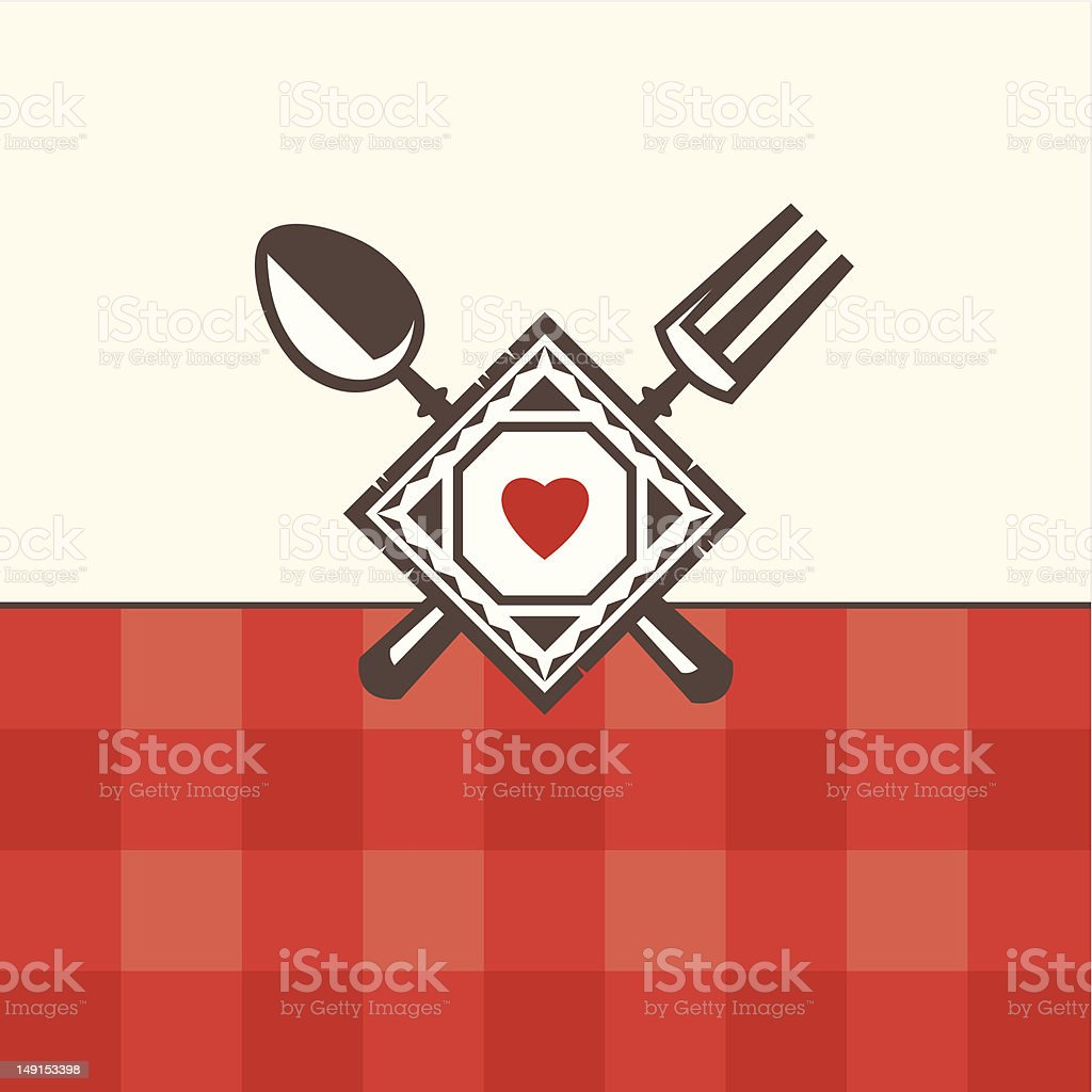 restaurant menu design royalty-free stock vector art