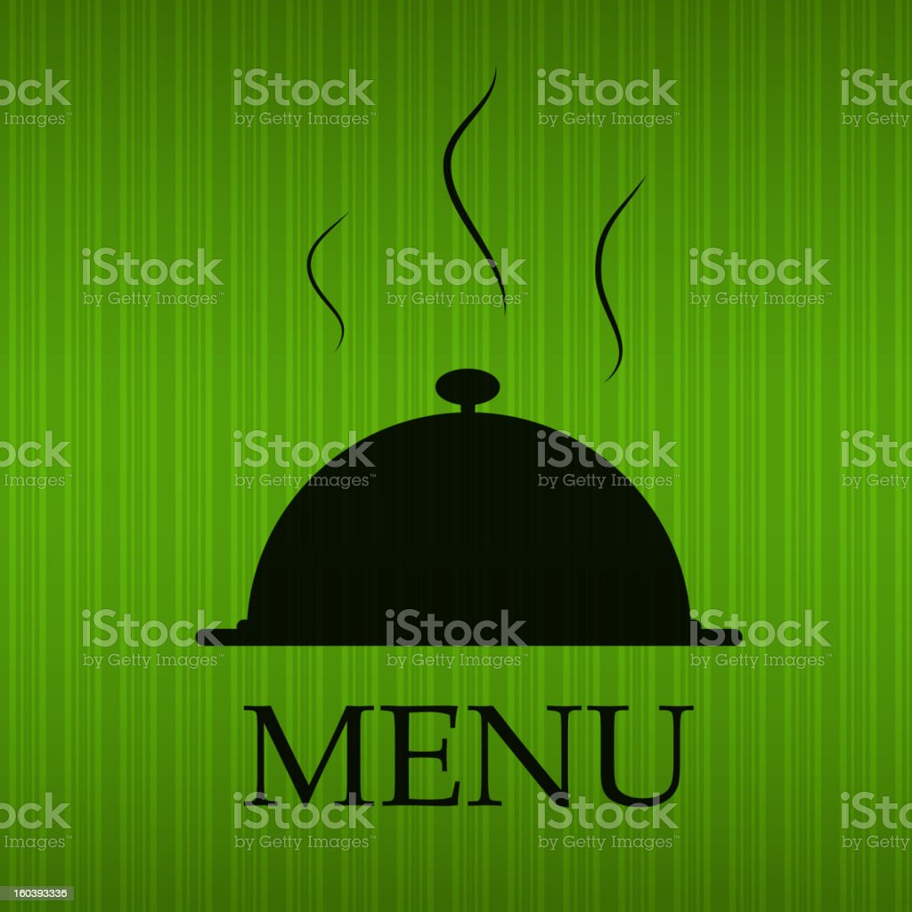 Restaurant menu template vector illustration royalty-free stock vector art
