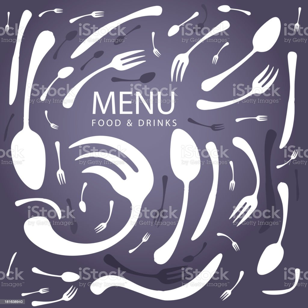 Restaurant Menu Vector royalty-free stock vector art