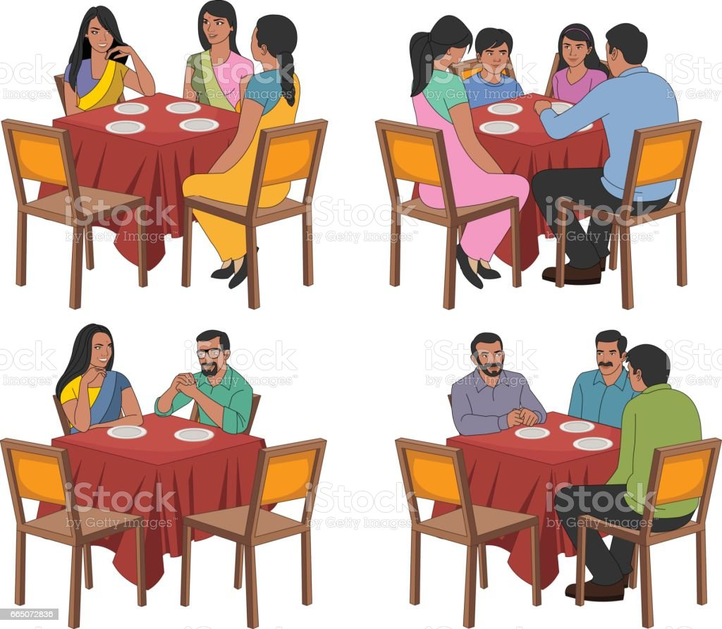 Restaurant tables and chairs clipart - Brazil Adult Chair Dinner Family Restaurant Tables