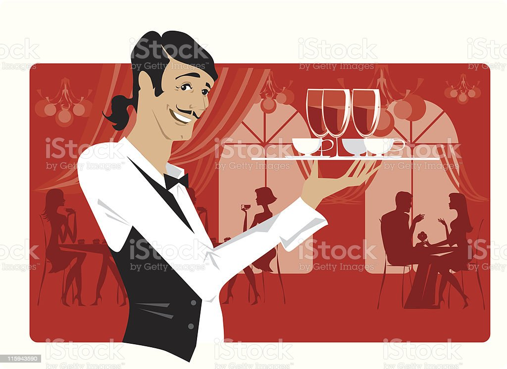 Restaurant royalty-free stock vector art