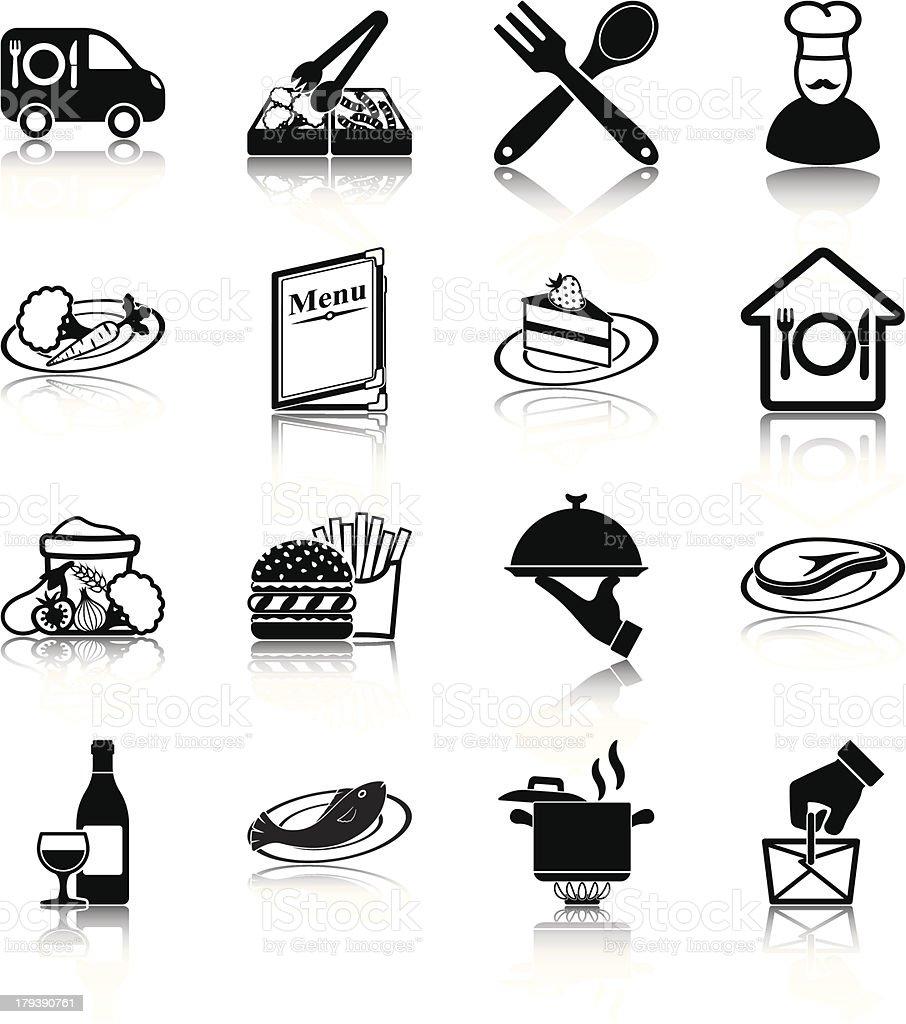 Restaurant vector art illustration