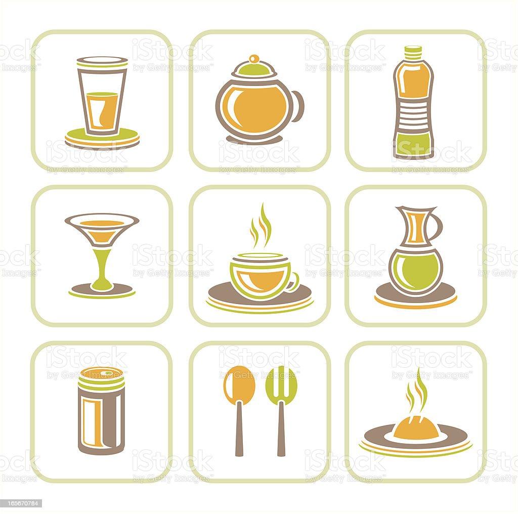 Restaurant_symbol vector art illustration