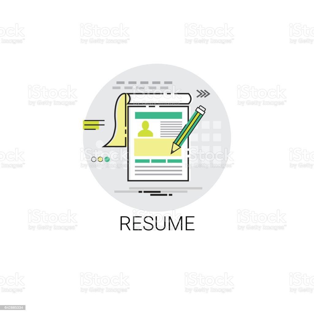 resume cv form job vacancy recruitment application icon stock resume cv form job vacancy recruitment application icon royalty stock vector art