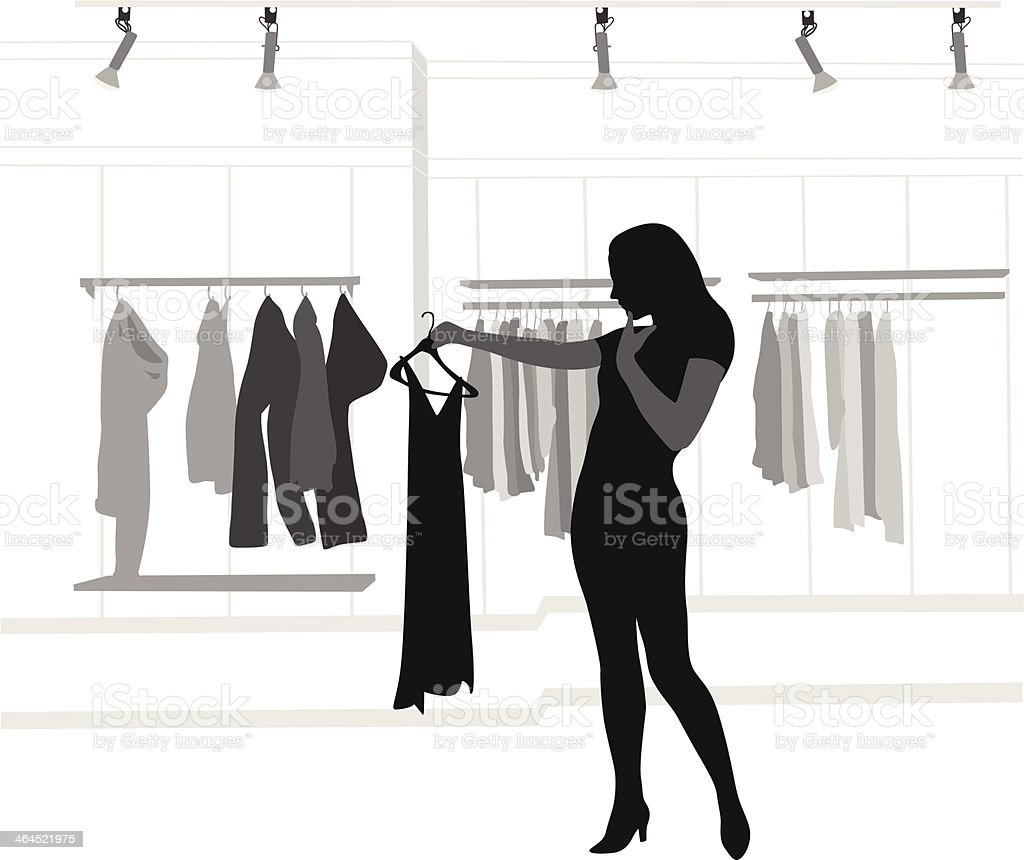 Retail Store royalty-free stock vector art