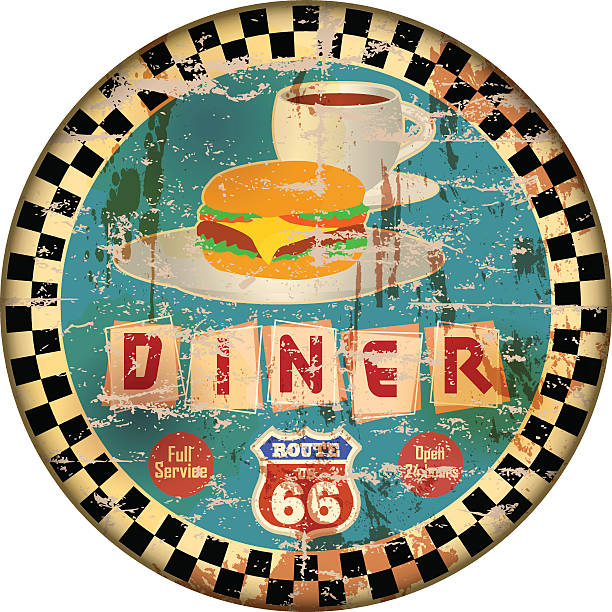 Diner Clip Art, Vector Images & Illustrations - iStock