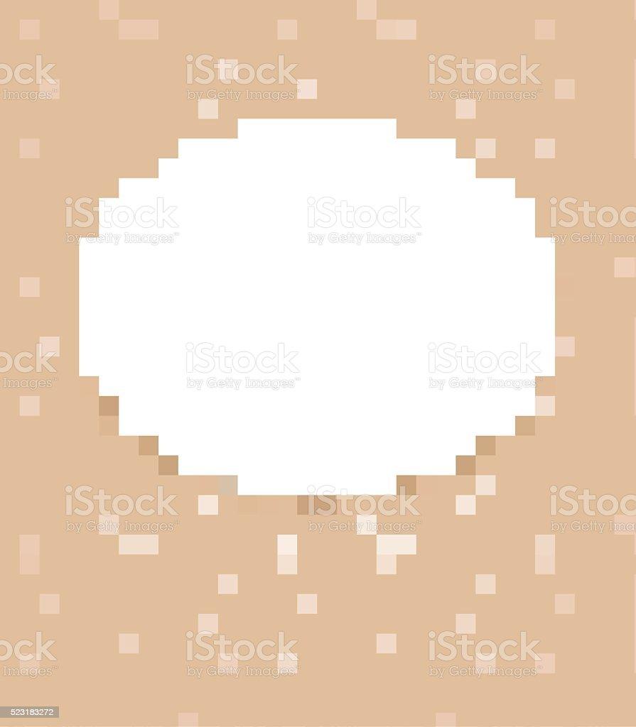 Retro background with cupcakes and doily vector art illustration