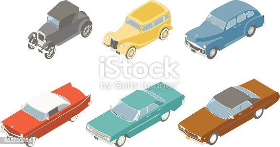 Isometric Classic Cars