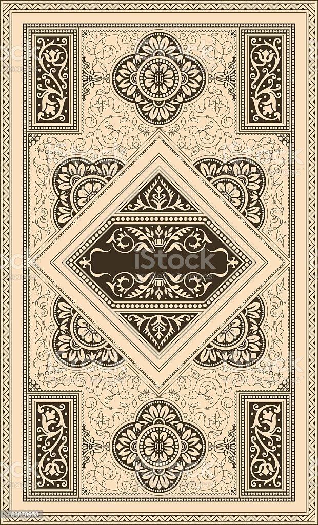 (Classic) Retro cover royalty-free stock vector art
