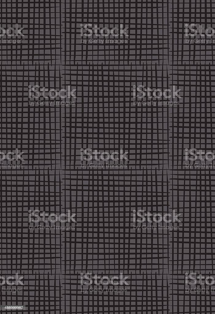 Retro Crosshatch Lines Seamless Pattern vector art illustration