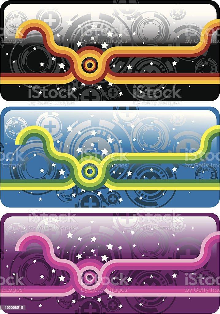 retro crystal design. royalty-free stock vector art