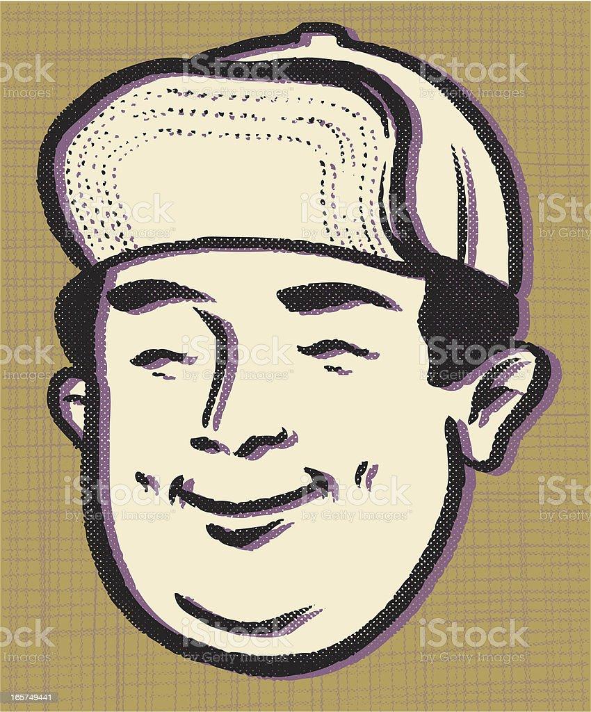 retro flip top vector art illustration