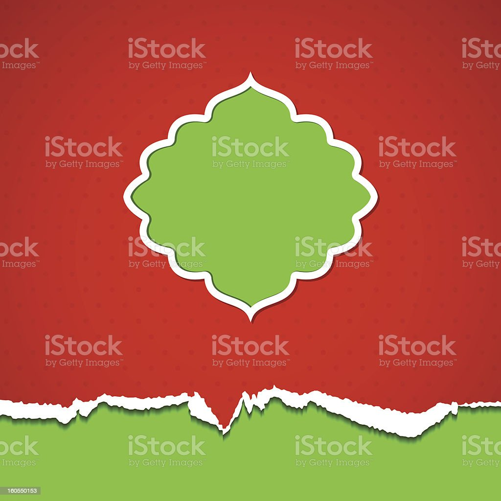 Retro frame royalty-free stock vector art