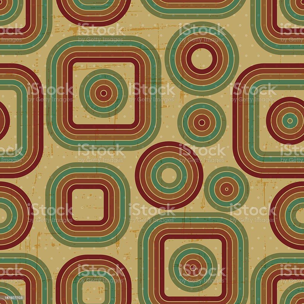 Retro grunge seamless pattern. royalty-free stock vector art