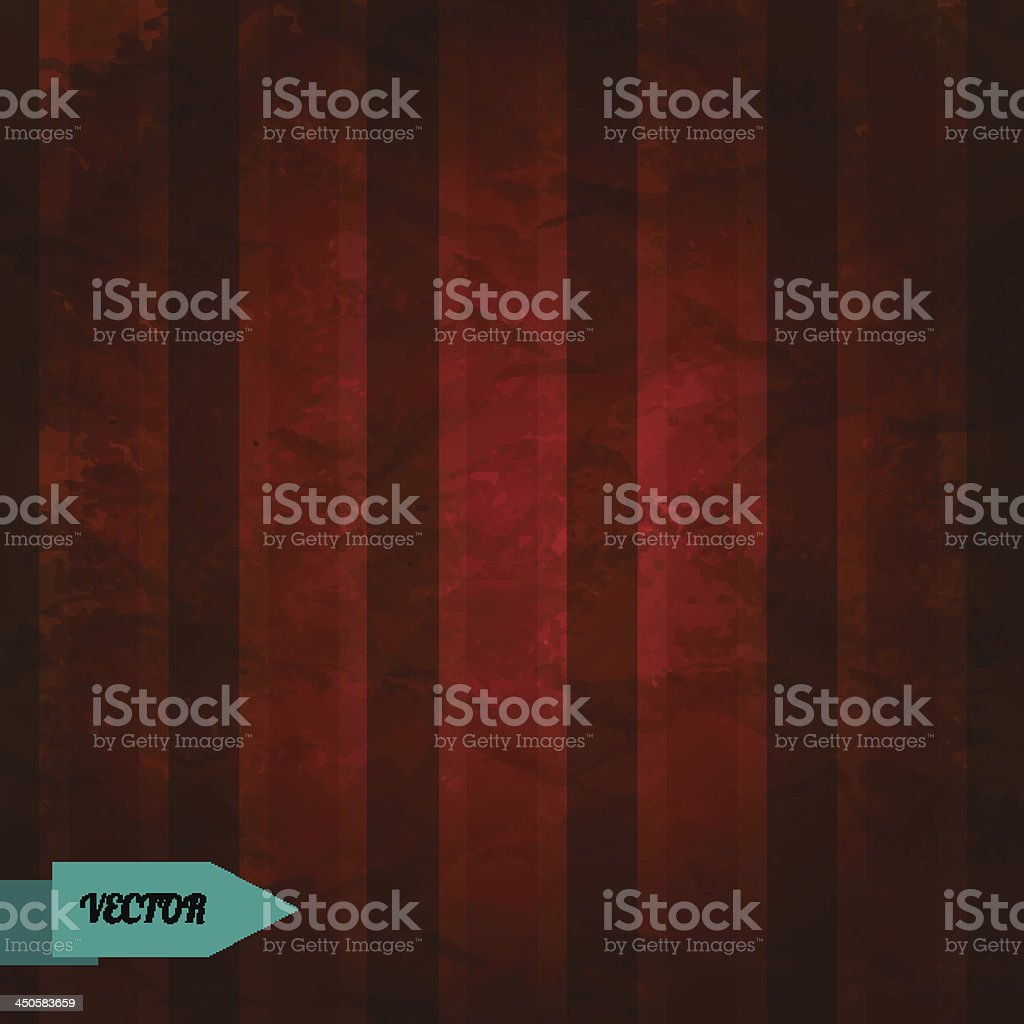 Retro grunge striped background royalty-free stock vector art