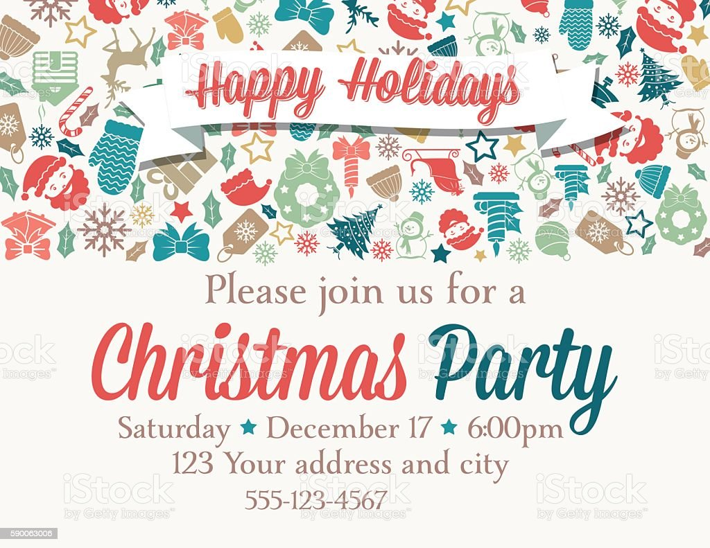 Christmas Invitation Template Jeppefmtk - Class party invitation template