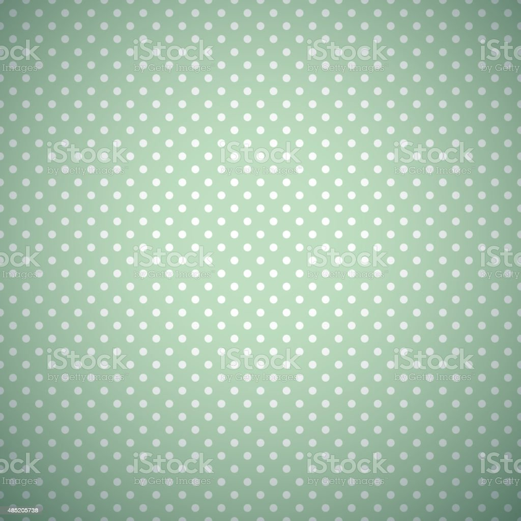 Retro mint different vector seamless patterns vector art illustration