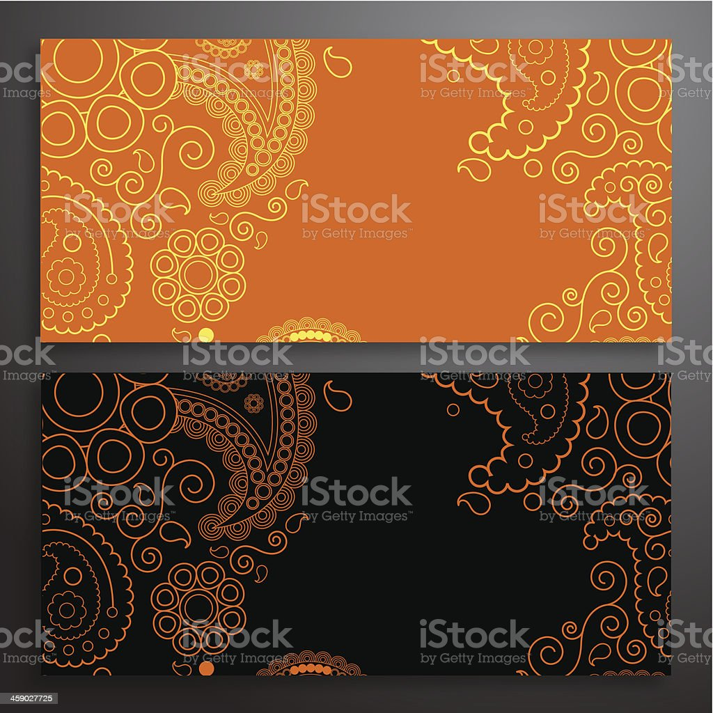 Retro pattern of shapes royalty-free stock vector art
