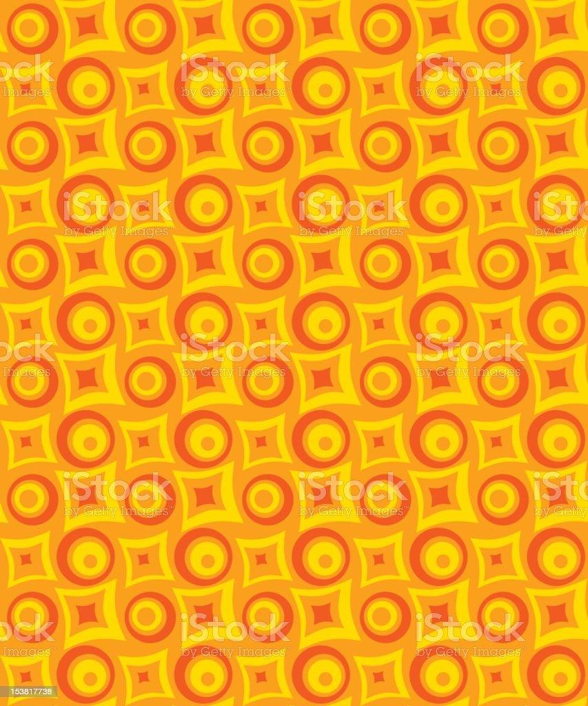 Retro Sixties Background royalty-free stock vector art