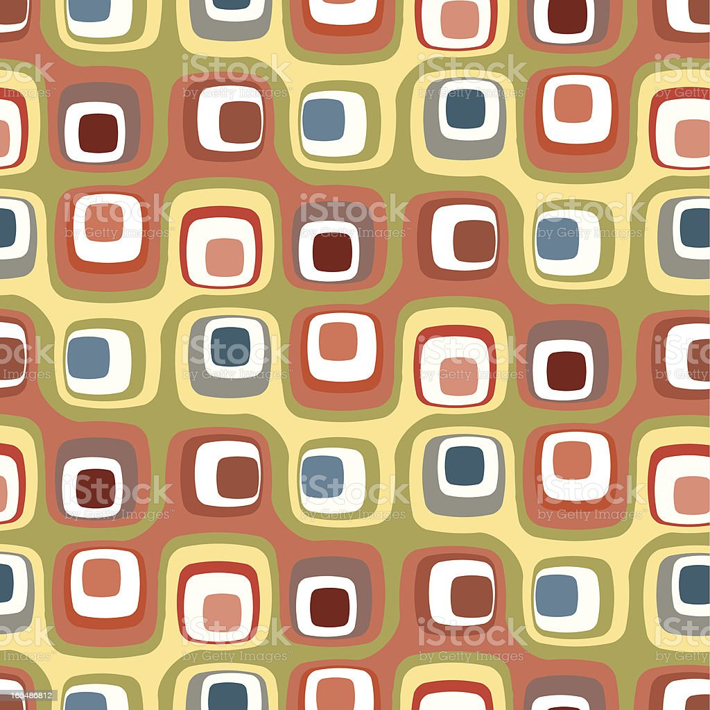 Retro Squares Background royalty-free stock vector art