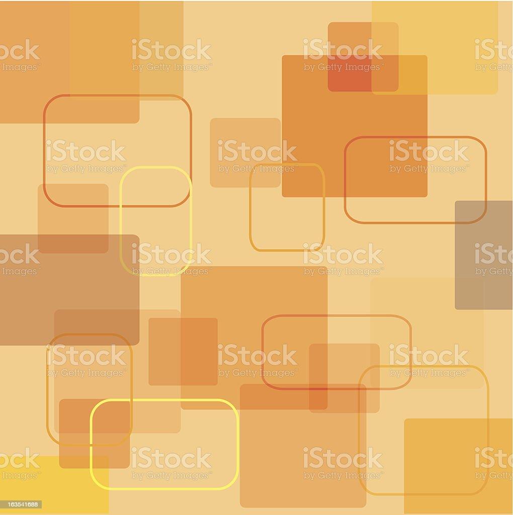 retro squares royalty-free stock vector art