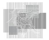 Retro Style Circuitboard Background