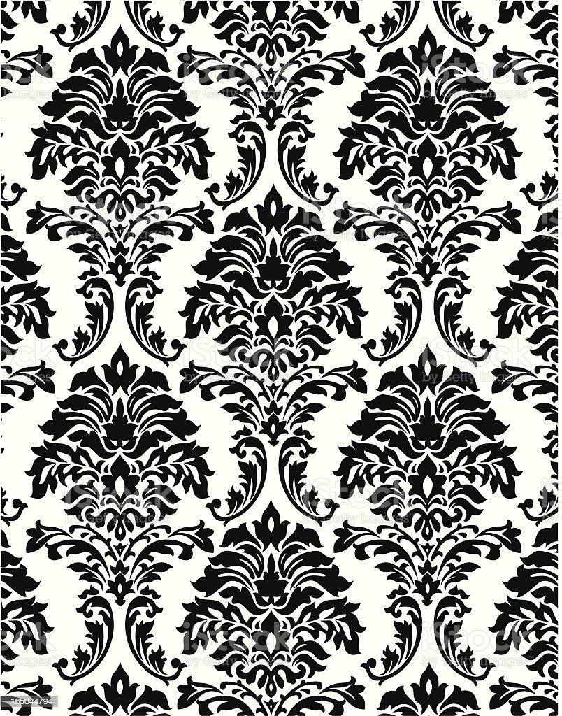 Retro styled pattern background vector art illustration