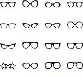 Retro Sunglasses - Black Series