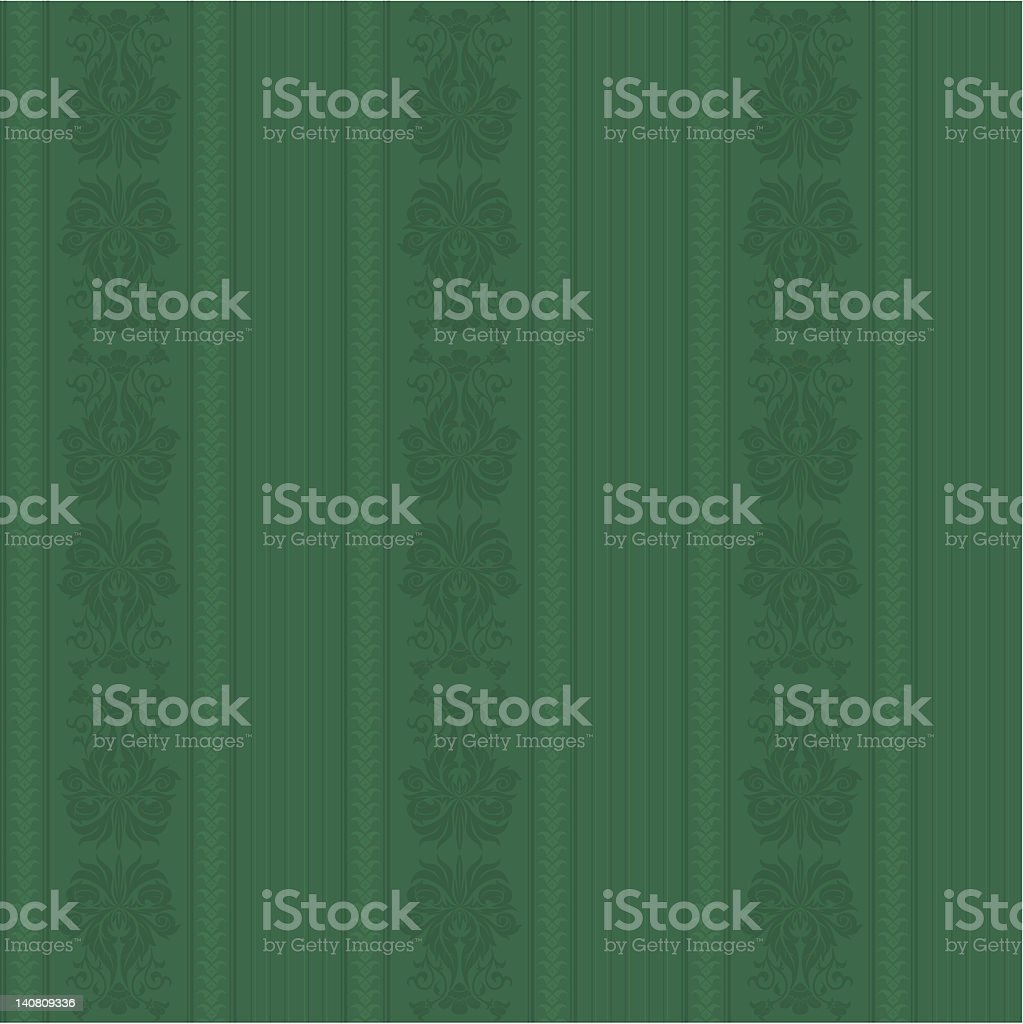 Retro Wallpaper Series (seamless) vector art illustration